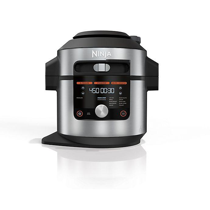 Alternate image 1 for Ninja® Foodi® Pressure Cooker Steam Fryer in Stainless Steel/Black