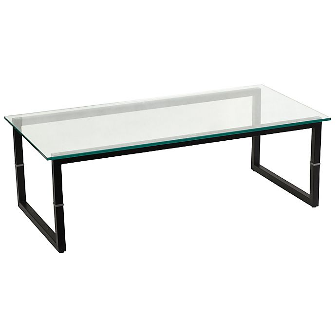 Alternate image 1 for Flash Furniture Glass Coffee Table