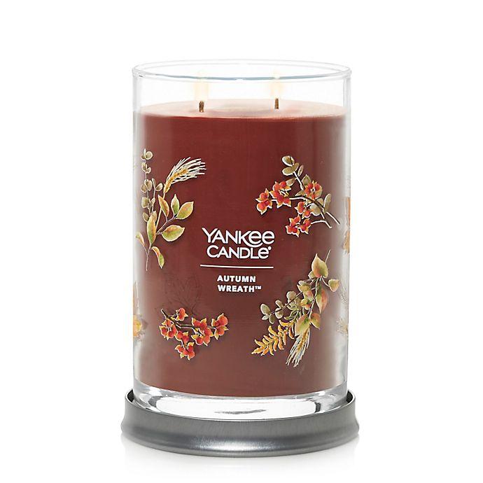Alternate image 1 for Yankee Candle® Autumn Wreath Signature Large Candle