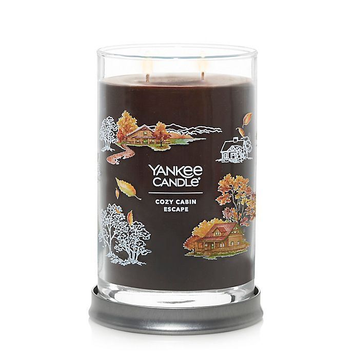 Alternate image 1 for Yankee Candle® Cozy Cabin Escape Large Tumbler Candle