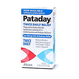 Alcon Pataday® 0.17 fl. oz. Twice Daily Eye Allergy Itch and Redness Relief Drops