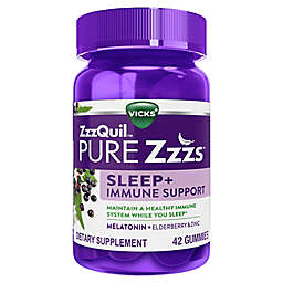 Vicks® ZzzQuil™ Sleep Aid & Immune Support Gummies 42-Count