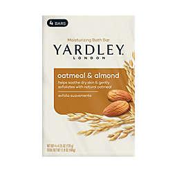 Yardley® 4-Pack Moisturizing Bath Bar in Oatmeal and Almond