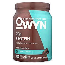 OWYN™ 19.2 oz. 100% Plant Based Protein Powder in Dark Chocolate