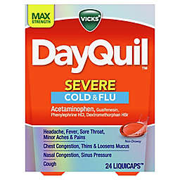 Vicks® DayQuil™ SEVERE Cold & Flu LiquiCaps™ 24-Count
