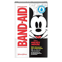 Johnson & Johnson Band-Aid® Disney® Mickey Mouse 15-Count Waterproof Bandages