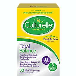 Culturelle® Total Balance 30-Count Probiotic Supplement