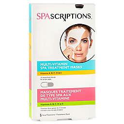 Global Beauty Care® SPAscriptions™ 5-Count Multi-Vitamin Spa Treatment Face Masks