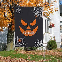 Jack-O'-Lantern Face Indoor/Outdoor Garden Flag