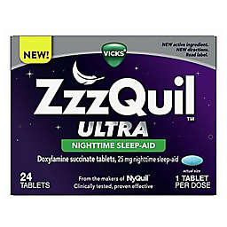 Vicks® ZzzQuil™ Ultra Nighttime Sleep Aid Tablets 24 Count