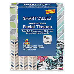 Harmon® Smart Values™ 4-Pack 2-Ply Facial Tissues