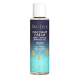 Pacifica® 4 oz. Coconut Cream Body, Bath, and Shower Oil