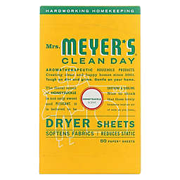 Mrs. Meyer's® Clean Day 80-Count Dryer Sheets in Honeysuckle
