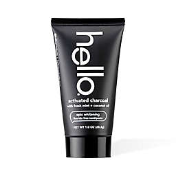 hello® 1.0 oz. Fluoride-Free Activated Charcoal Whitening Toothpaste