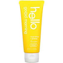 hello® Good Morning 3 oz. Fluoride-Free Toothpaste in Meyer Lemon + Ginseng