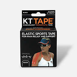 KT Tape® 20-Count Elastic Sports Tape in Black