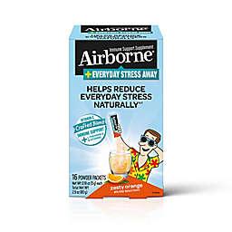 Airborne® + Everyday Stress Away 16-Count Powder Packets in Zesty Orange