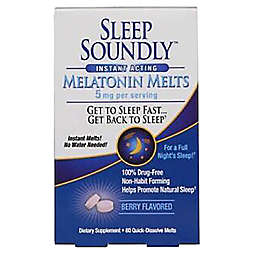 Sleep Soundly™ 60-Count 5 mg Melatonin Melts