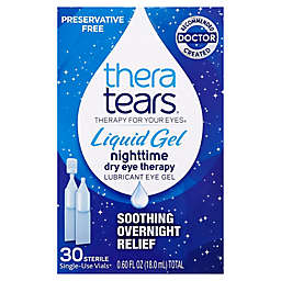 TheraTears® 30-Count Single Use Vials Liquid Gel Nighttime Dry Eye Therapy