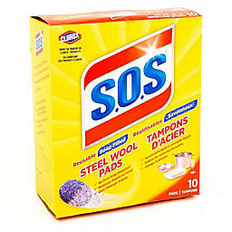 S.O.S® Steel Wool Soap Pads10-Count Box