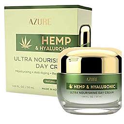 Azure Hemp and Hyaluronic Acid 1.69 oz. Ultra Nourishing Day Cream