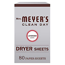 Mrs. Meyer's® Clean Day 80-Count Dryer Sheets in Lavender