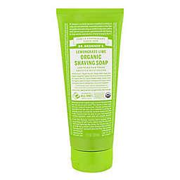 Dr. Bronner's 7 oz. Organic Shaving Soap in Lemongrass Lime