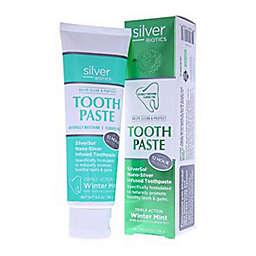 Silver Biotics® 4 oz. Natural Whitening Coral Toothpaste