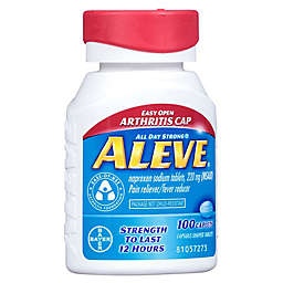 Aleve® 100-Count Pain Reliever/Fever Reducer Caplets with Easy Open Arthritis Cap