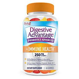 Schiff® Digestive Advantage® 64-Count Probiotics Advanced + Immune Health Gummies