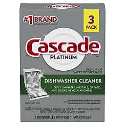 Cascade® Platinum 3-Count Dishwasher Cleaner Pouches