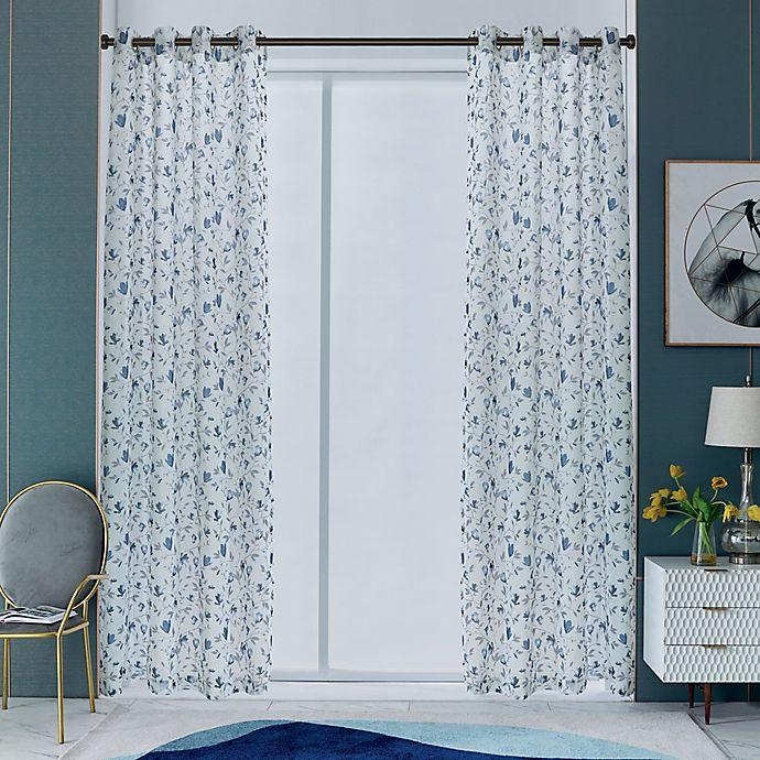Alternate image 1 for Lyndale Alexxa Grommet Sheer Window Curtain Panel (Single)