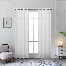 Lyndale Mila Sheer Window Curtain Panel (Single)