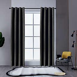 Lyndale Austin Grommet Blackout Window Curtain Panel (Single)