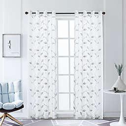 Lyndale Clarita Grommet Sheer Window Curtain Panel (Single)