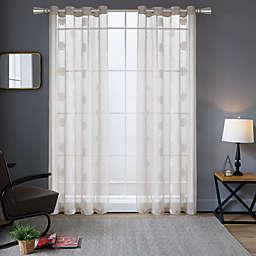 Lyndale Harper Grommet Sheer Window Curtain Panel (Single)