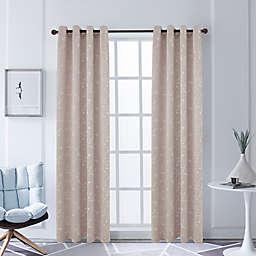 Lyndale Joy Grommet Room Darkening Window Curtain Panel in Blush (Single)