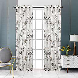 Lyndale Nora Grommet Sheer Window Curtain Panel (Single)