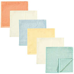 Hudson Baby® 6-Pack Rayon from Bamboo Burpcloths in Neutral