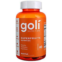 Goli® Nutrition 60-Count Superfruits Gummies in Mixed Fruit