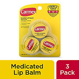 Carmex® 3-Pack Classic Medicated Lip Balm Jars