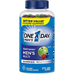 One A Day® Men's VitaCraves® 170-Count Multivitamin Gummies