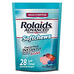Rolaids® 28-Count Advanced Antacid Plus Anti-Gas Softchews in Mixed Berry