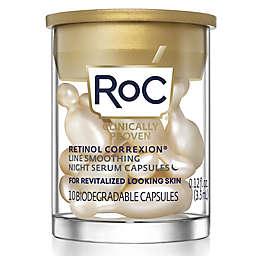 RoC® 10-Count Retinol Correxion® Line Smoothing Night Serum Capsules