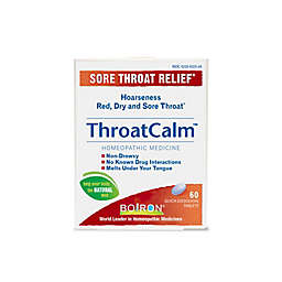 Boiron® ThroatCalm® 60-Count Tablets
