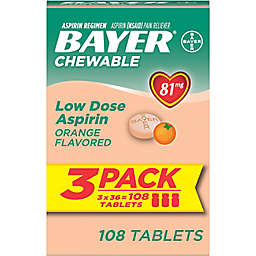 Bayer® Children's Aspirin 108-Count Chewable Tablets