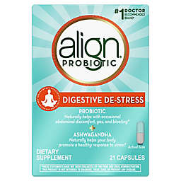 Align® 21-Count Digestive De-Stress Probiotic Capsules with Ashwagandha