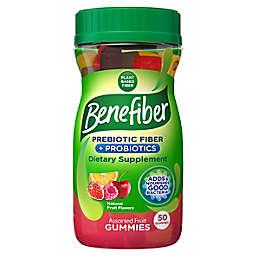 Benefiber® 50-Count Prebiotic Fiber & Probiotic Assorted Fruit Gummies