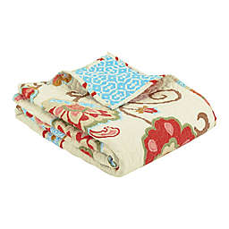 Levtex Home Araya Quilted Throw in Red