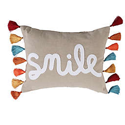 Levtex Home Smile Oblong Throw Pillow